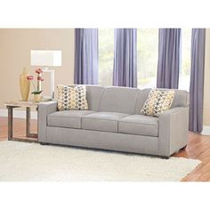 "Paxton Fabric Queen Sleeper Sofa - Costco - $800 - 79"" W x 35""  D x 34"" H"