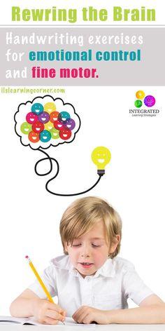 Rewire the Brain: Handbook for Emotional Control and Fine Motor Development…