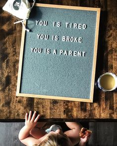 Mom's Letter Board Instagrams Get Real About Parenting