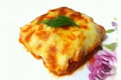 Potato Chicken with Bechamel Sauce - Yummy Recipes - # 340 .- Potato Chicken Recipe with Bechamel Sauce - Italian Chicken Dishes, Turkish Recipes, Ethnic Recipes, Turkish Breakfast, Bechamel Sauce, Homemade Beauty Products, Iftar, Lasagna, Quiche