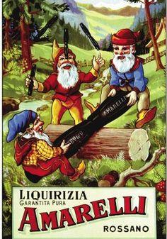 Vintage Amarelli advertising
