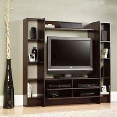 Home Entertainment Center Wood Storage Cabinet TV Stand Console Media Furniture #Sauder