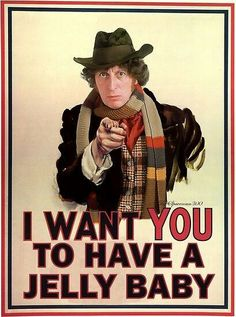 Doctor Who-Tom Baker --- LOL best doctor ever!!!