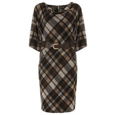 Tartan in paler colours was oh so popular on the FROW Cashmere Wool, Tk Maxx, Tartan, Casual Dresses, Men Casual, Pearl, Colours, Street Style, Popular