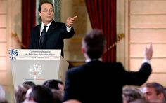 Now this is news, populous don't like you, you have an affair and you become popular again lmao smdh!! Never been a fan of politics. - François Hollande's media conference at the Elysée Palace brought great   anticipation, but no satisfaction