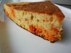 Gâteau salé cuit à la poêle: version chorizo/tomates séchées/parmesan - C secrets gourmands!! Blog de cuisine, recettes faciles, à préparer à l'avance, ...