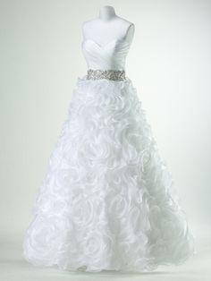 Flirt by Maggie Sottero P47672 - organza wedding dress
