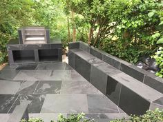 Natural slate the perfect choice for your external area by core and ore