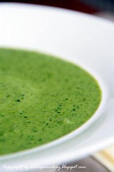 #Soup with #rucola salad & #spinach // Zupa z rukoli i szpinaku