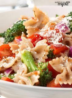 Salade de pâtes jardinière #recette