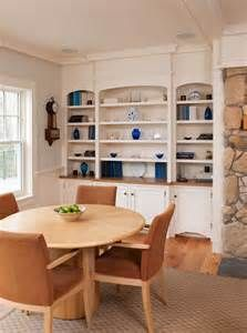 Modern Dining Room Built Ins