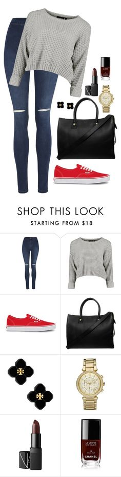 """Untitled #161"" by marr-neubauerova on Polyvore featuring George, Vans, Paul & Joe, Tory Burch, Michael Kors, NARS Cosmetics and Chanel"