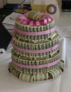 money cake #NiftyIdeas