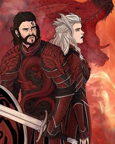 culture Sorry I've been posting a lot of Jonerys but they are just so cute together. (If you know the artist please tell me! Game Of Thrones Artwork, Got Game Of Thrones, Game Of Thrones Houses, Rune Knight, Character Concept, Character Art, Queen Of Fire, Jon Snow And Daenerys, Got Characters