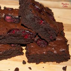Brownies cu zmeura / Raspberry brownies - Madeline's Cuisine