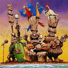 The Tiki Island Band