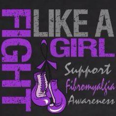 Fibromyalgia Awareness. I want this on a shirt!