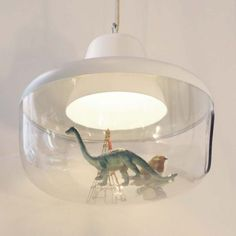 Lamp by ENO. Sure any kid would love to have one of these. You can put anything you like in side.