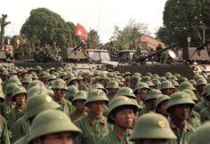 Tropas vietnamitas.