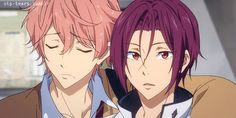 Kisumi and Rin Anime Boys, Hot Anime Boy, Manga Anime, Free Kisumi, Rin Matsuoka, Susanoo Naruto, Makoto, Splash Free, Free Eternal Summer