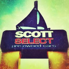 We love our Scott Select Sailboat sign :)