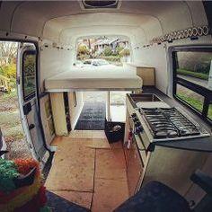 Camper Van Conversions DIY 12