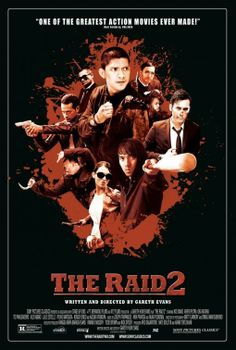 This movie is just the way too cool, must watch, The Raid 2!