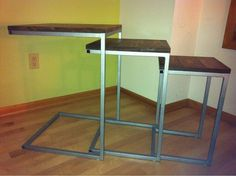 Zhang Nesting Tables by TheFabShop on Etsy, $289.00