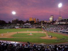 Raley Field in West Sacramento, Home of the River Cats-Nice facility-good team-great baseball