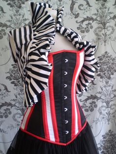 Vivienne Circus RingMaster Corset. Created by  AliceAndWillow @ etsy.