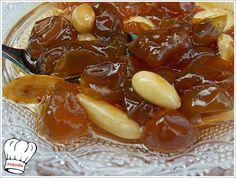 ΓΛΥΚΟ ΣΤΑΦΥΛΙ  ( ΣΤΑΦΙΔΑ ) Fruit Jam, Greek Recipes, Jelly, Food And Drink, Cooking Recipes, Pudding, Sweets, Baking, Vegetables