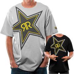 2015 Rockstar X-Ray Casual Motocross Apparel Adult Short Sleeve Tee T-Shirt