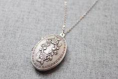 Silver Vintage Locket.  Again, which one?