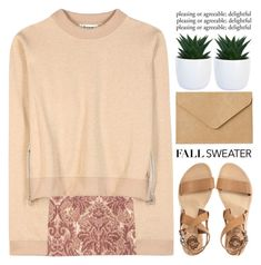 """""""Untitled #1104"""" by chantellehofland ❤ liked on Polyvore featuring Sol Sana, H&M, Acne Studios and Muji"""