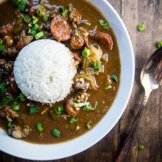 New Orleans Gumbo New Orleans Gumbo This New Orleans Gumbo Recipe Is Made With Spicy Smoked Andouille Sausage Crab Shrimp Oysters Okra And Vegetables All Served Over Steamed White Rice Louisiana Seafood Gumbo Okra Recipe Okra Recipes, Seafood Recipes, Chicken Recipes, Donut Recipes, Recipe Chicken, Cajun Recipes, Louisiana Seafood, Louisiana Recipes
