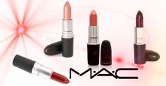 Get colour plus texture for the lips with M.A.C lipstick. www.cosmeticdesires.com #lipstick #maccosmetics #maclipstick