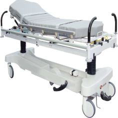 C-arm Stretcher KCS-A100 Kizlon C-arm stretcher KCS-A100 are the designed for procedures where access, precise, stability is required. The features of this stretcher is to simply the operation and minimize the need of reposition the patient during X-ray examination.