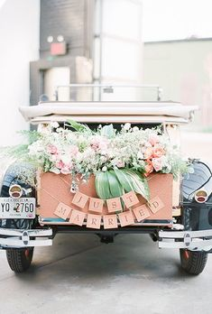 Creative Wedding Getaway Cars | Brides