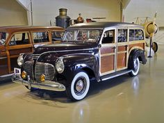 1941 Plymouth Woody Wagon Ground Up Restoration Old Vintage Cars, Vintage Surf, Vintage Trucks, Antique Cars, American Classic Cars, Old Classic Cars, Airplane Car, Plymouth Cars, Classic Wooden Boats