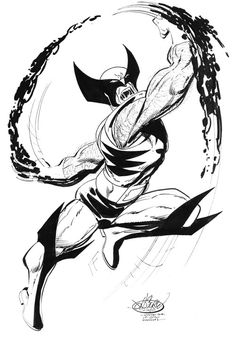 Wolverine commission by John Byrne. 2016.