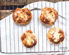Maailman parhaat voisilmäpullat - 52 Weeks of Deliciousness 52 Weeks, Muffin, Breakfast, Morning Coffee, Muffins, Cupcakes