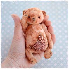 Мишки Тедди ручной работы. Ярмарка Мастеров - ручная работа. Купить Плюшевый мишка тедди с вышивкой. Handmade. Мишка тедди