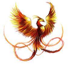 Pták ohnivák a mořská panna