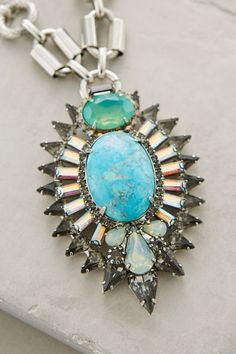 Shimmering Pendant Necklace - anthropologie.com #anthrofave