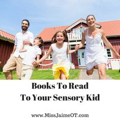 A pediatric OT recommends books for children and teens with sensory issues.  #sensory #pediOT #ASD #SPD