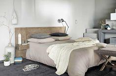 Linen 140cm Headboard In Black Ombelline | Maisons Du Monde | Arredamento |  Pinterest | Black, Linens And Headboards