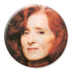 ONLY ONE Bonnie Raitt 2-1/4 Inch Button