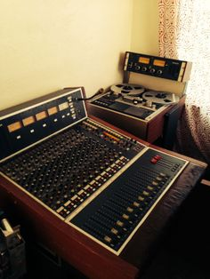 Studer 961 12x4 recording console with matching A810 2 track tape machine