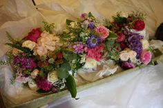 Country Garden Flowers For Catherine and Callum's Wedding Day at Kirkham Methodist Church & The Villa Wrea Green Wedding Flowers, Wedding Day, Floral Wreath, Bright Colours, Garden, Pretty, Pi Day Wedding, Light Colors, Floral Crown