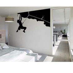 Wspinaczka-Sport-Fajne-Kreatywny-Sylwetka-Naklejka-ŚCIENNA-ART-Mural-Giant-Duża-Naklejka-Transferu-Winylu-Dom-Pok&oacute (800×800)